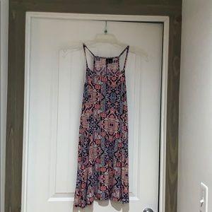 XL multicolored skater dress